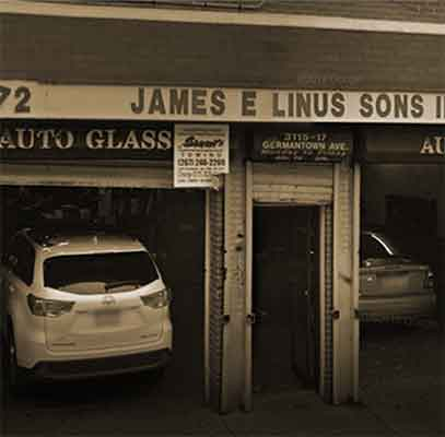 old image linus auto glass